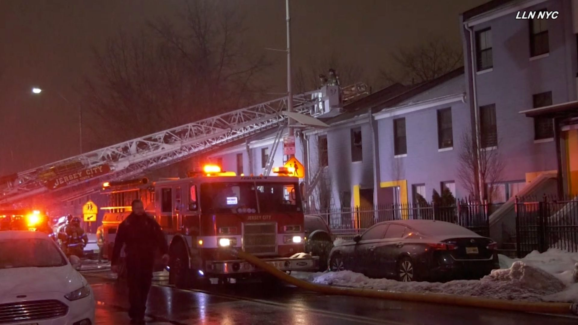 Deadly Jersey City townhouse fire