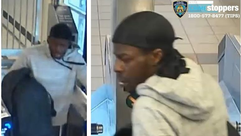 suspect wanted for punching woman in the head on the subway in Brooklyn, police said