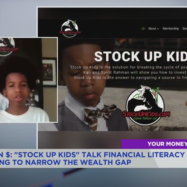 """The """"Stop Up Kids,"""" also known as Baltimore brother and sister duo Kali and Spirit Rahman, talk to the PIX11 Morning News on March 17, 2021. (PIX11 News)"""