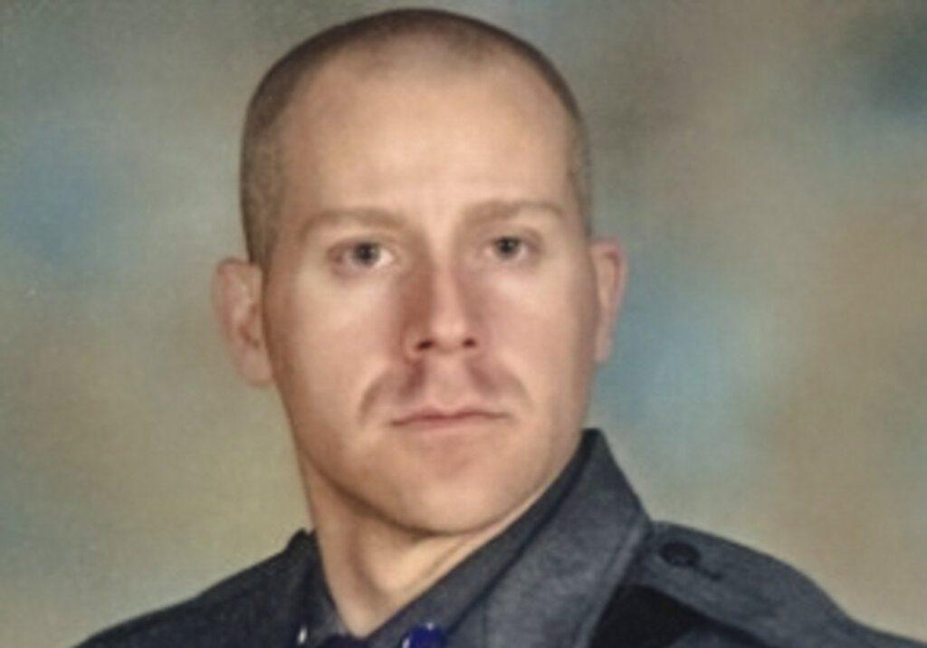 New York State Trooper Joseph Gallagher