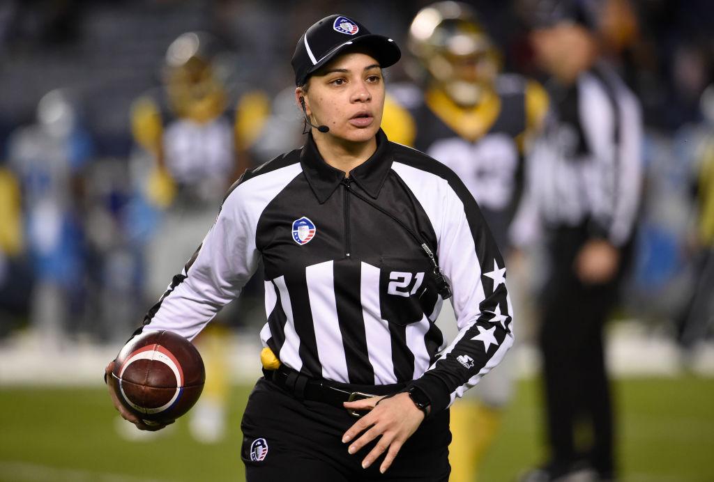 NFL Referee Maia Chaka