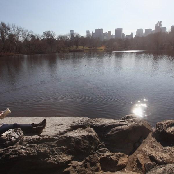 Sunny, mild weather in New York CIty