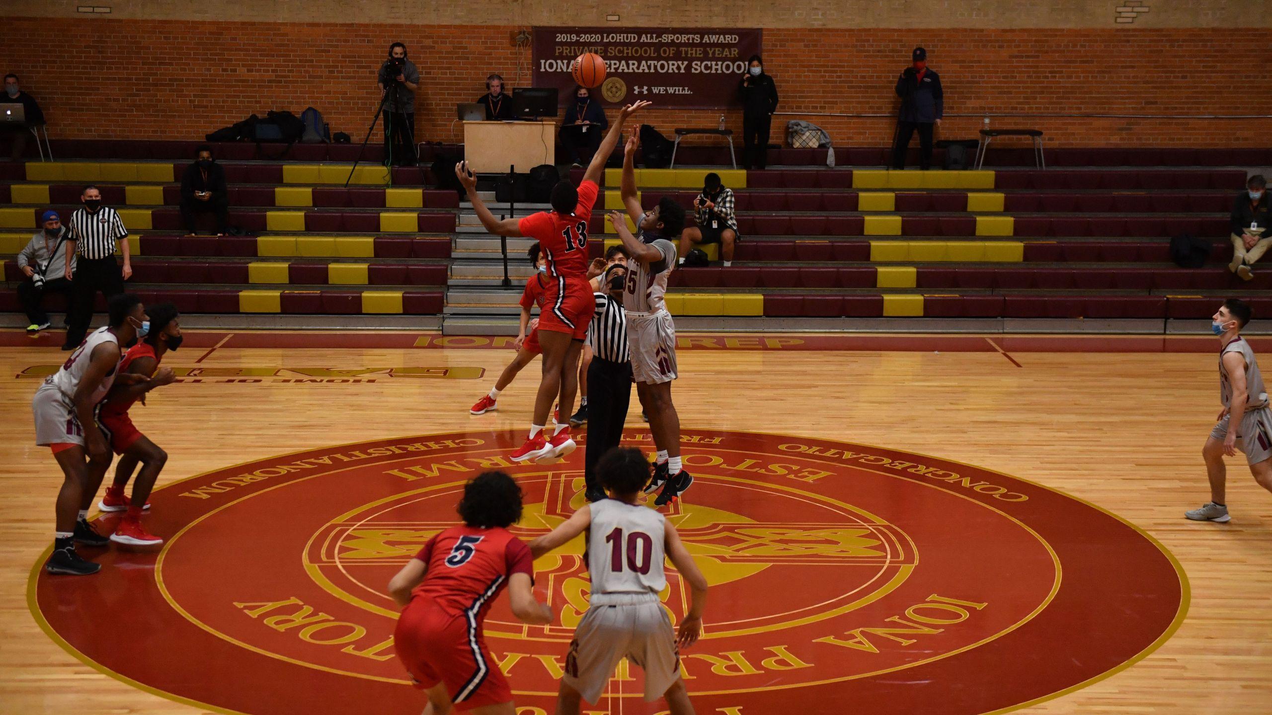 Iona Prep basketball