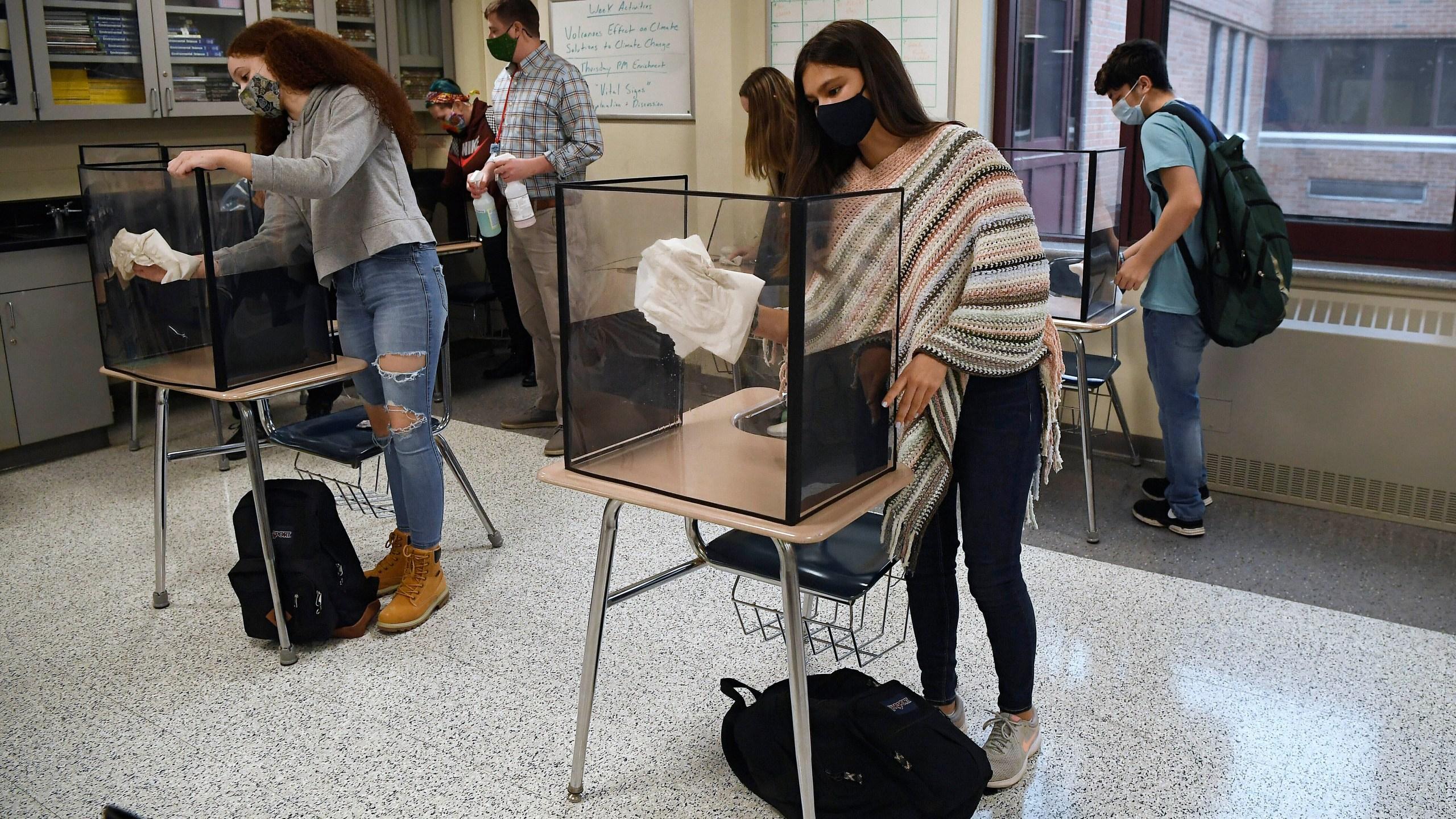 COVID-19 classrooms