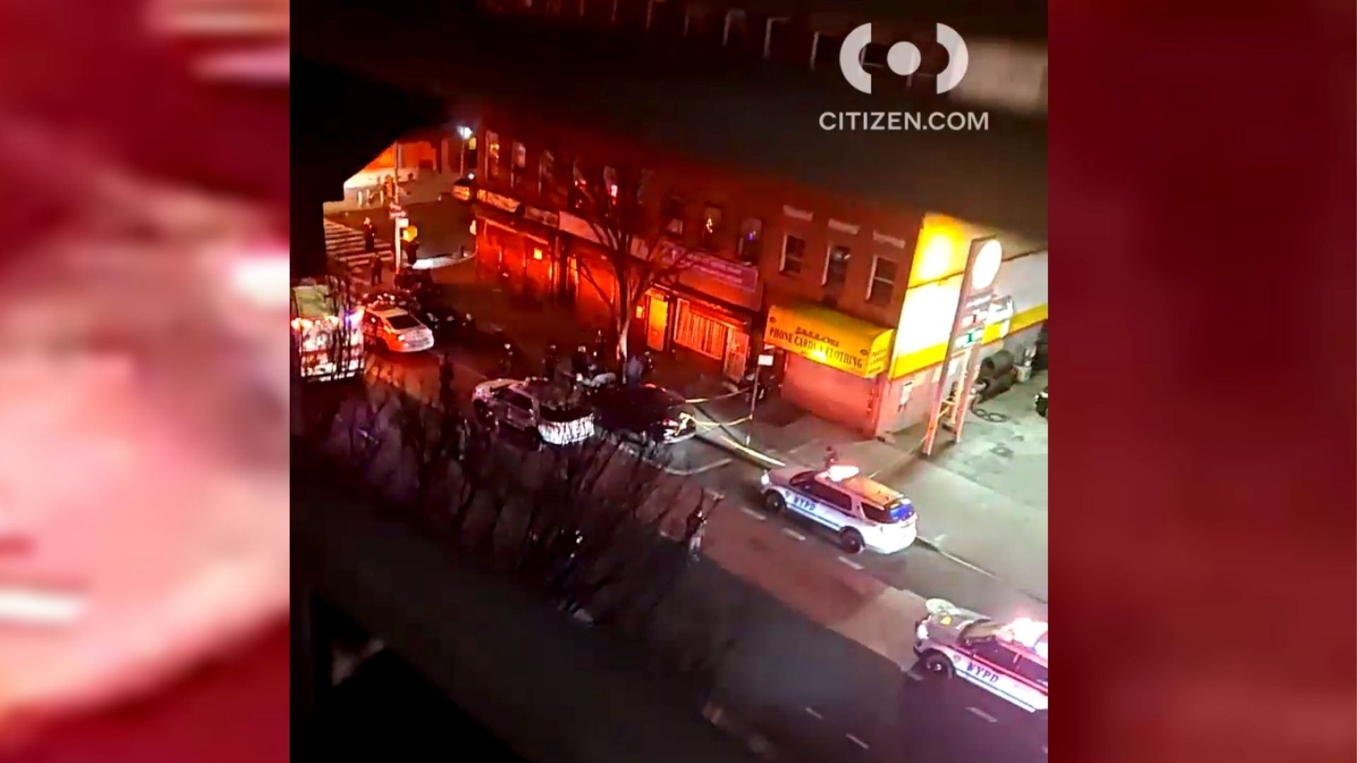 Police on the scene of a fatal East Harlem shooting near East 118th Street and First Avenue that sparked a police pursuit through Manhattan after two men fled the scene, according to the NYPD.
