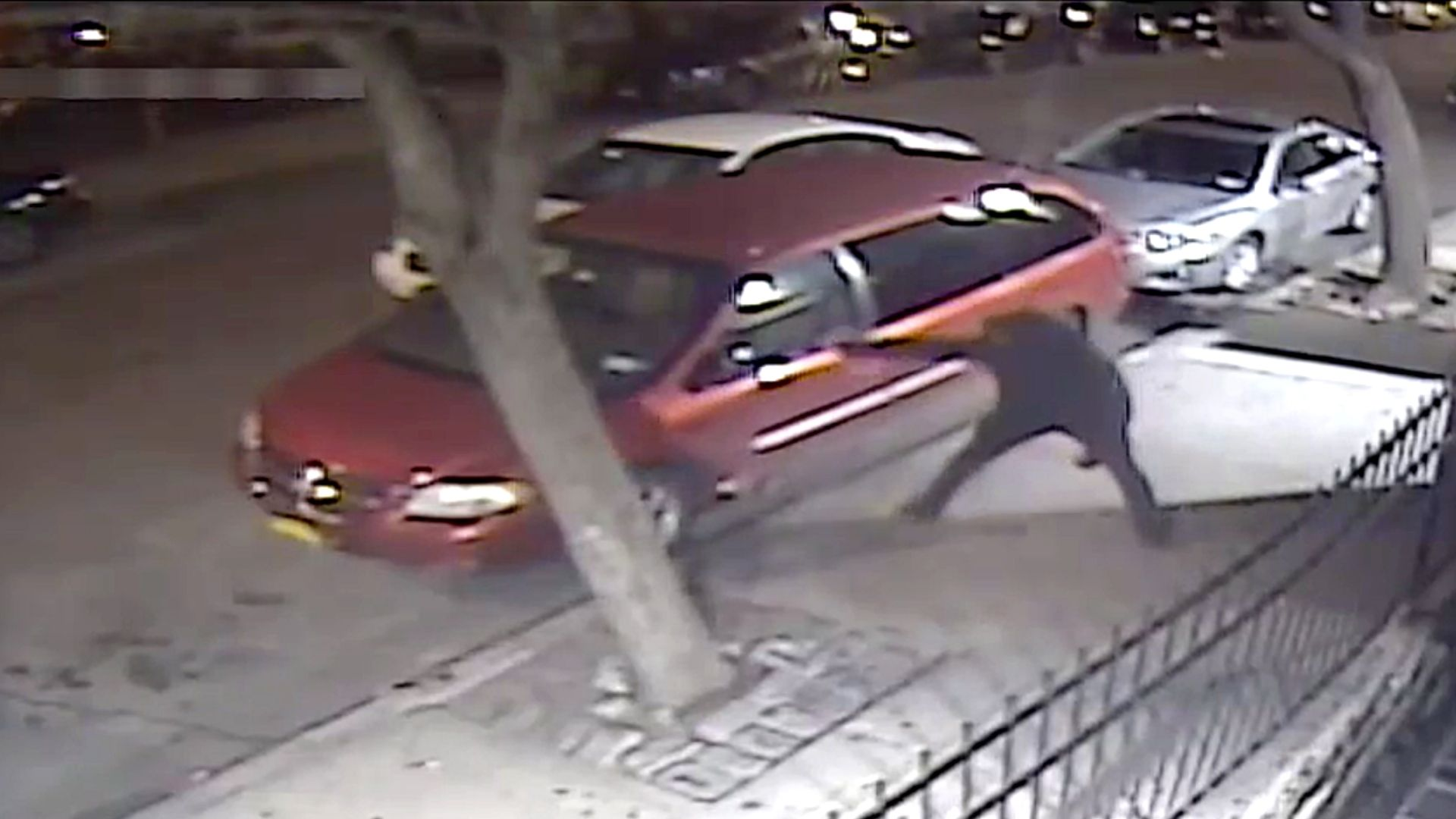 Still from a surveillance video of a man involved in a shootout with another man near the intersection of Frederick Douglass Boulevard and West 151st Street in Harlem on Saturday, March 27, 2021, according to police.
