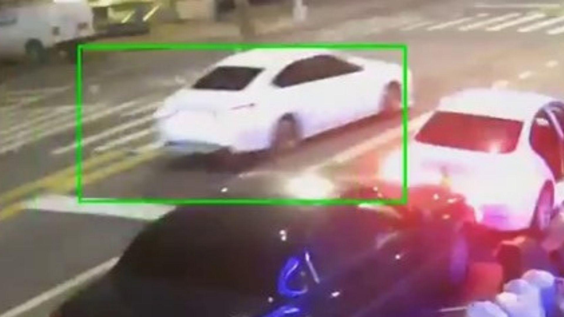 Brooklyn hit-and-run vehicle
