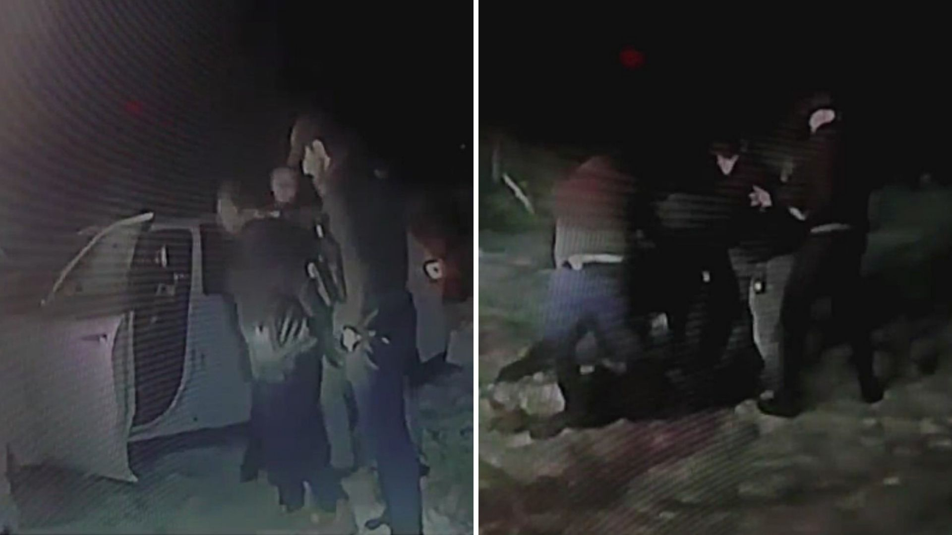 Suffolk County cops kick handcuffed suspect