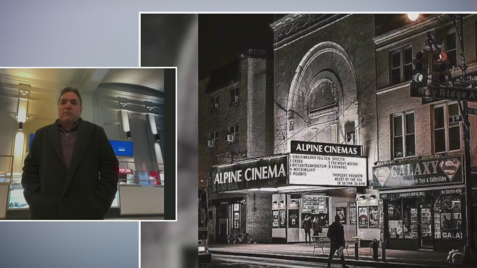 NYC movie theater owner Nick Nicolaou