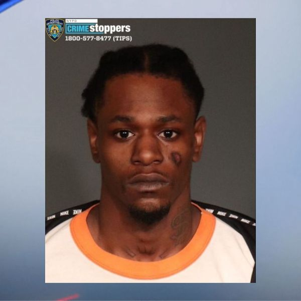 Police mugshot of murder suspect Christopher Buggs, 26, originally arrested on Feb. 3, 2018. (NYPD)