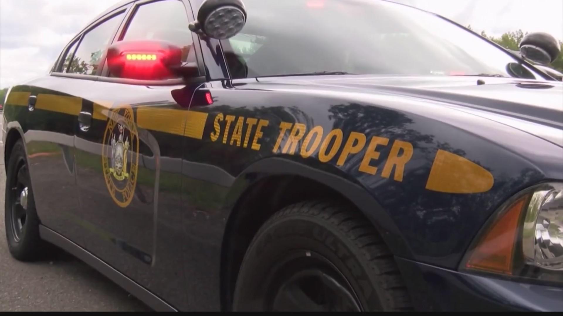 New York State Trooper patrol car. (file photo)