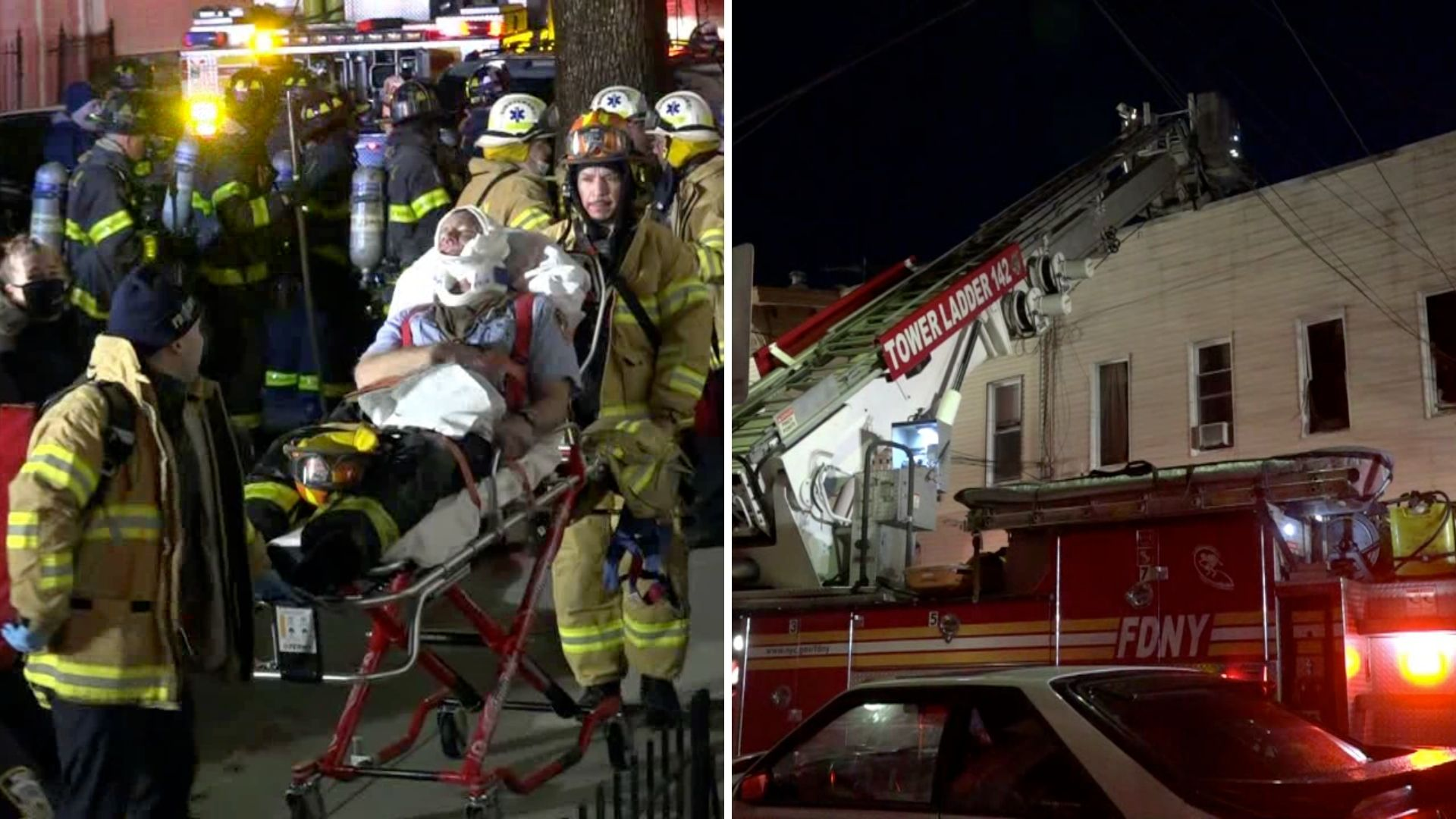 Firefighter hurt in Queens house fire