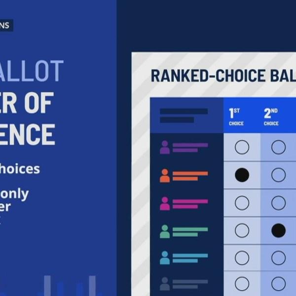 Rank choice voting