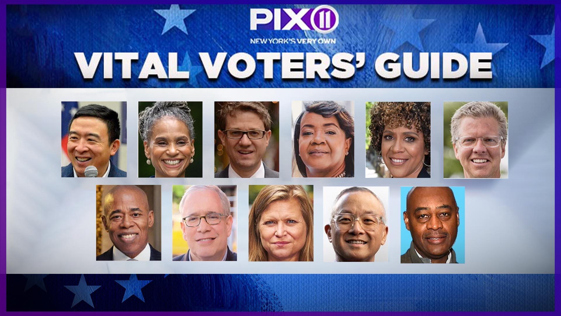 PIX11 Vital Voters' Guide