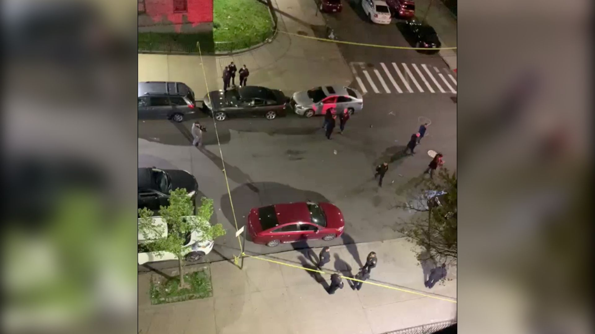 Police investigating after a 16-year-old boy was shot in the head outside the Whitman Houses in Fort Greene, Brooklyn late Thursday night, April 22, 2021, the NYPD said.