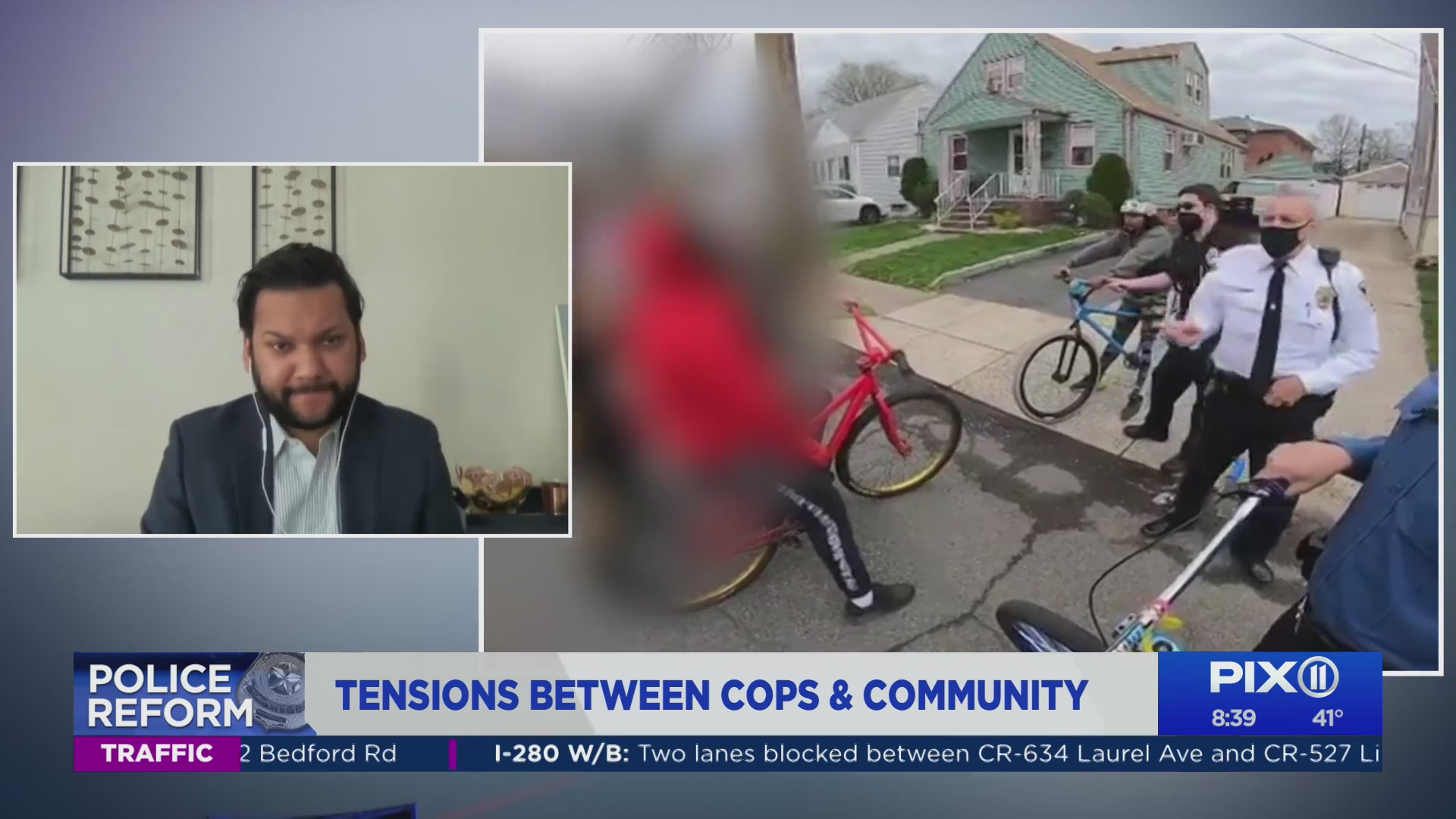 NJ ACLU talks Perth Amboy cops arresting teen, taking his bike (PIX11 News)