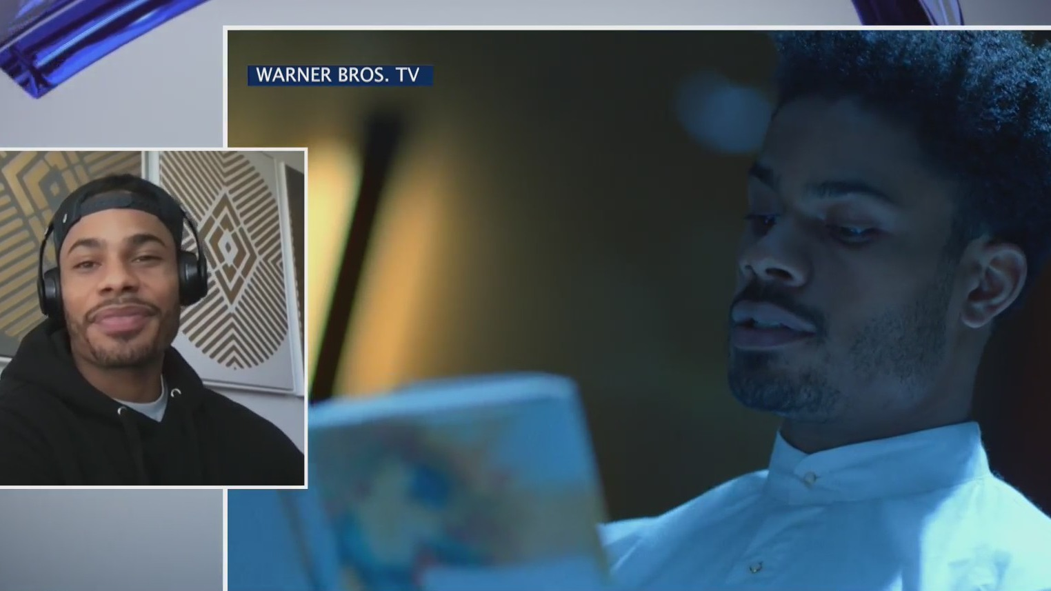 "Actor Jordan Calloway talks ""Black Lightning"" on the PIX11 Morning News (PIX11 News)"