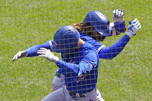 Trimmer Guerrero Jr. helps Jays finish series win over Yanks