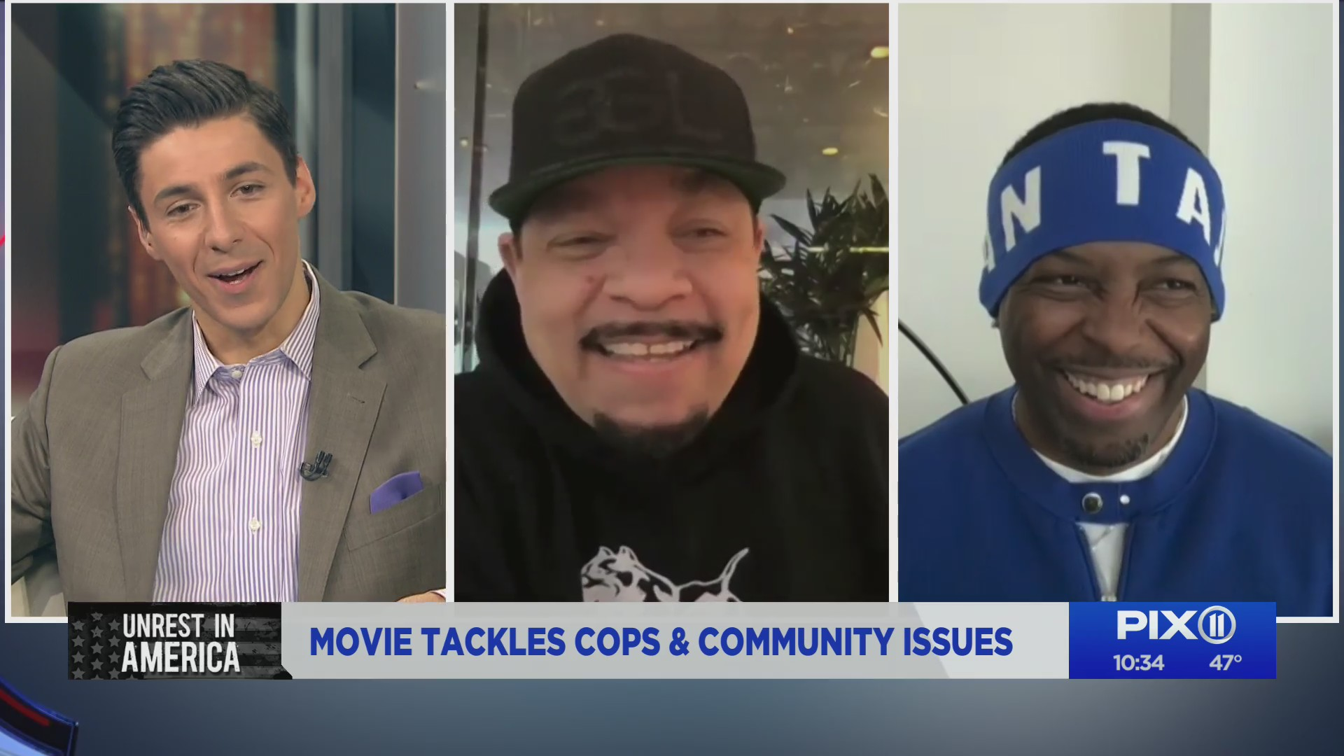 "Ice T talks about his film ""Equal Standard"" on the PIX11 Morning News (PIX11 News)"