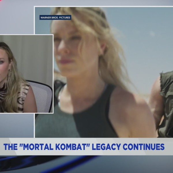 "Actress Jessica McNamee talks playing Sonya Blade in the new ""Mortal Kombat"" movie on the PIX11 Morning News. (PIX11 News)"