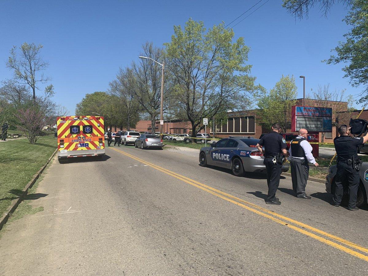 Knoxville school shooting scene