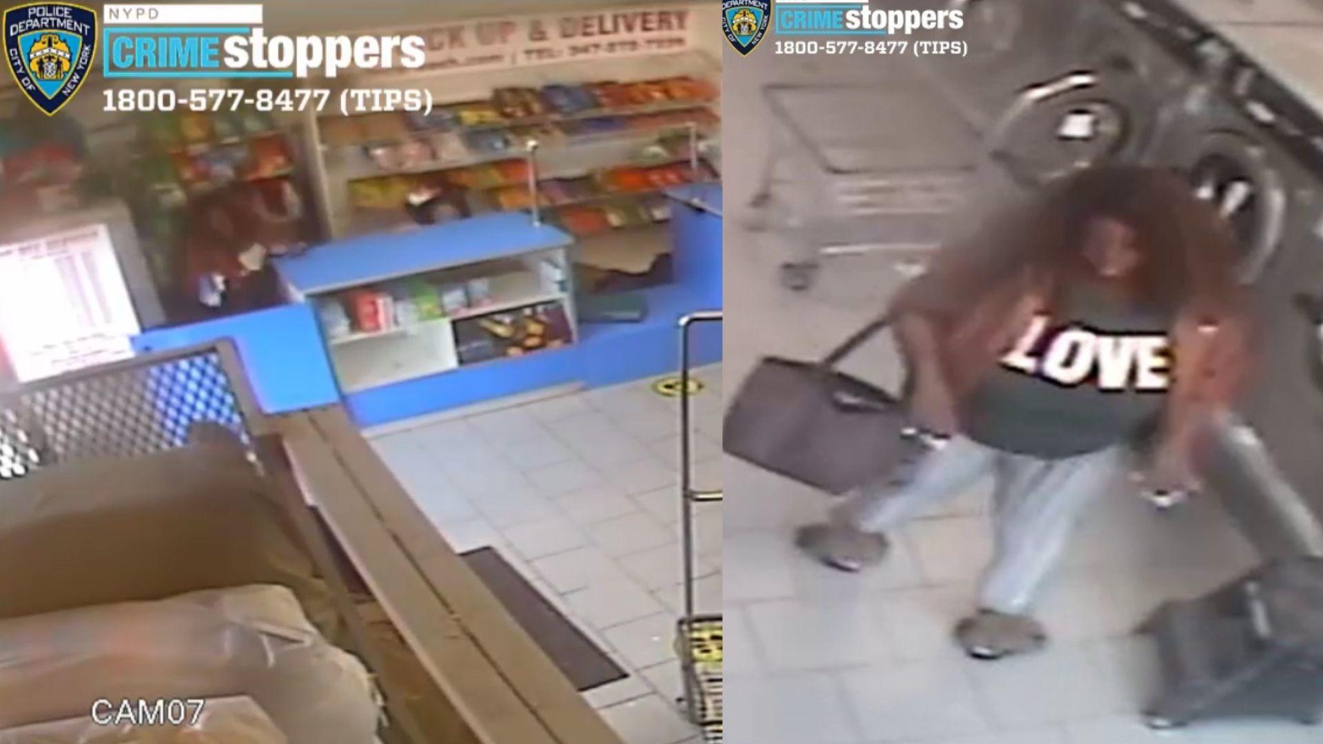 BK laundromat robbery