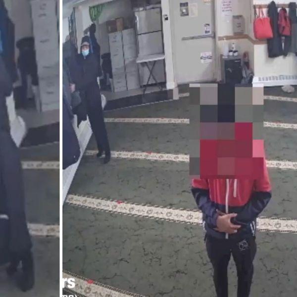 Mosque parishioner robbery