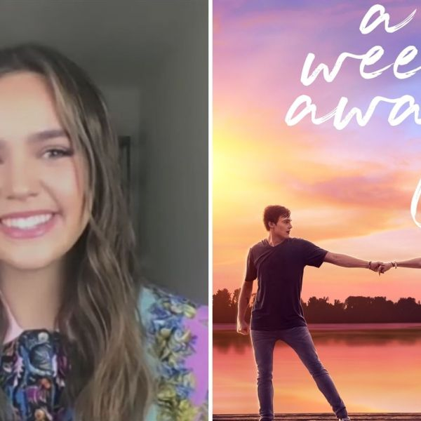 "Actress and producer Bailee Madison talks to the PIX11 Morning News about her new Netflix movie ""A Week Away"" on April 6, 2021. (PIX11 News)"