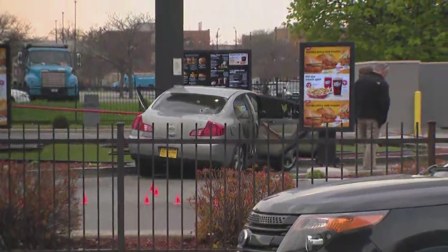 McDonald's drivethru shooting