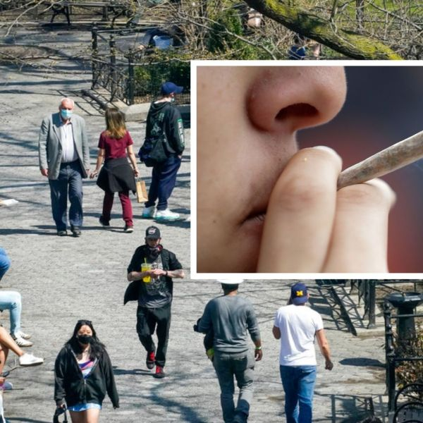 """In honor of """"4/20"""" and continued efforts to get more New Yorkers vaccinated, a group of activists will hand out free marijuana joints in Union Square on Tuesday, April 20 to adults 21 and over who can prove they're fully vaccinated."""