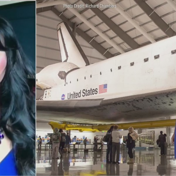 Rocket scientist and author Olympia LePoint talks to the PIX11 Morning News.