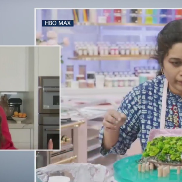 "YouTube star and author Rosanna Pansino talks about hosting the new HBO Max baking competition series ""Baketopia"" on the PIX11 Morning News"