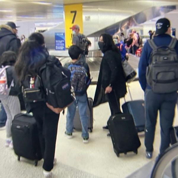 People evacuate Newark Airport terminal C