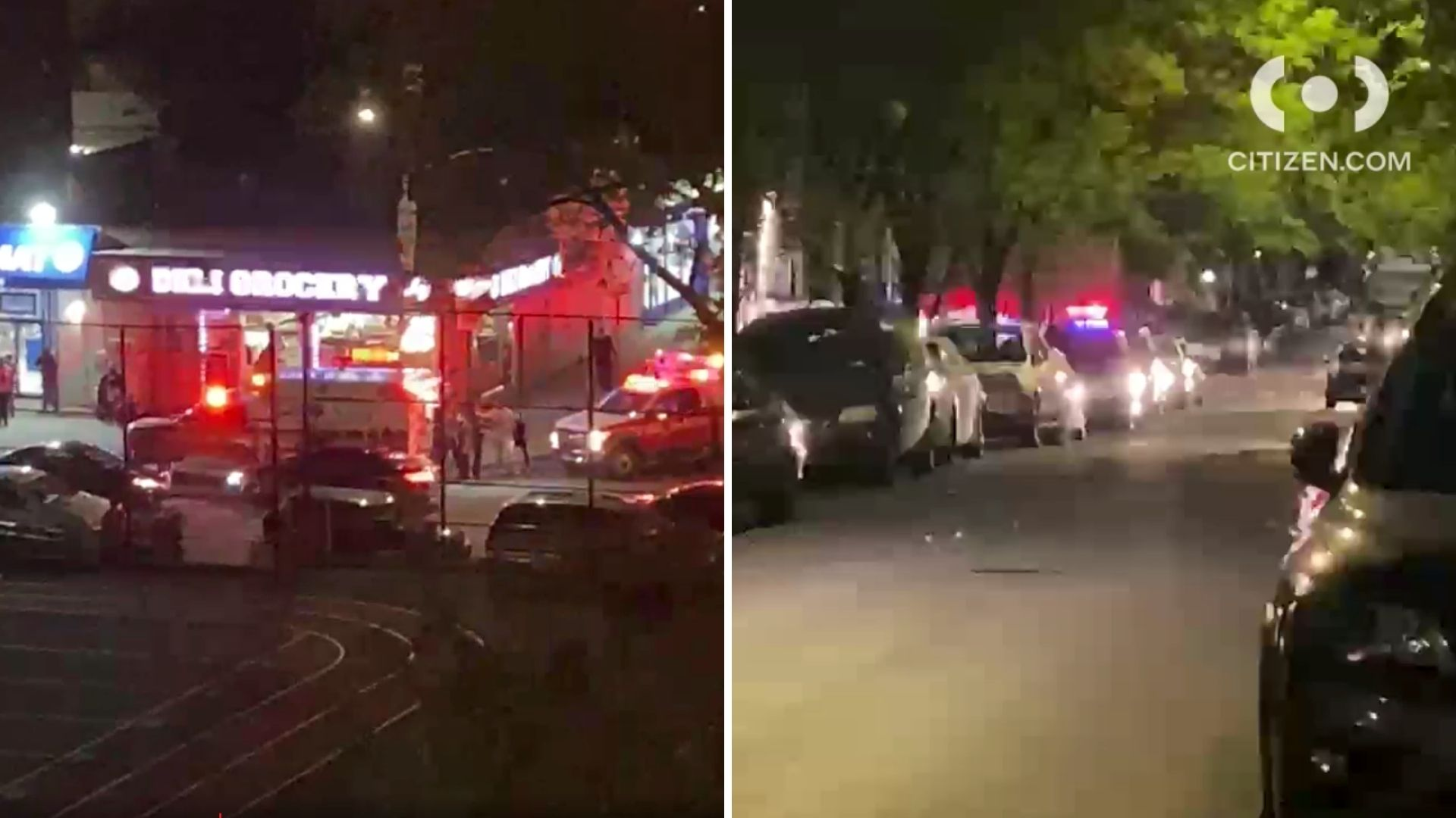 Police on the scene after a 16-year-old boy was shot in the Bronx