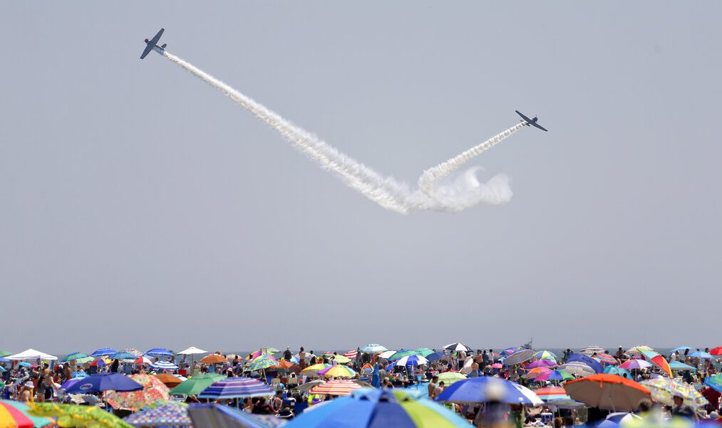 bethpage air show jones beach