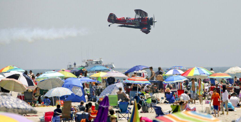 bethpage air show at jones beach