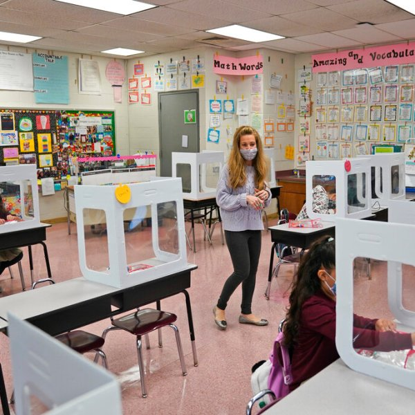 NJ schools reopen in Jersey City amid covid pandemic
