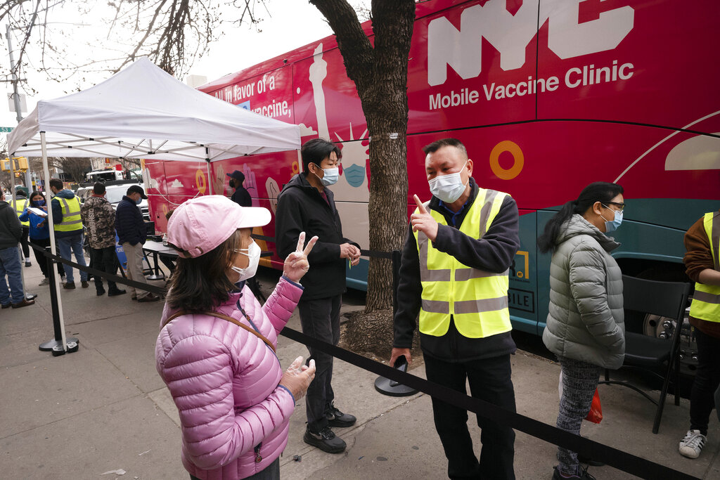 Pop-up COVID-19 vaccine site now open for tourists in NYC