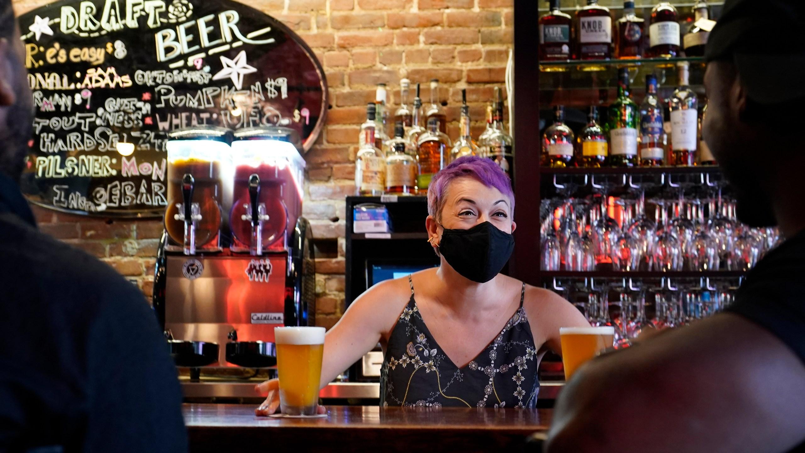 Bar co-owner Erin Bellard