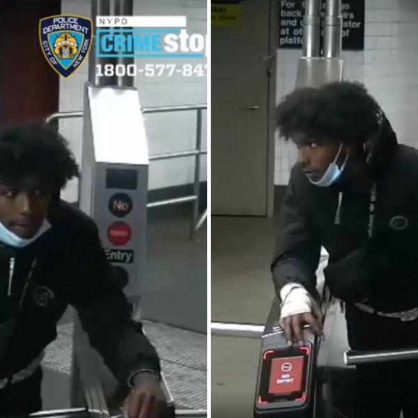 Manhattan subway slashing suspect