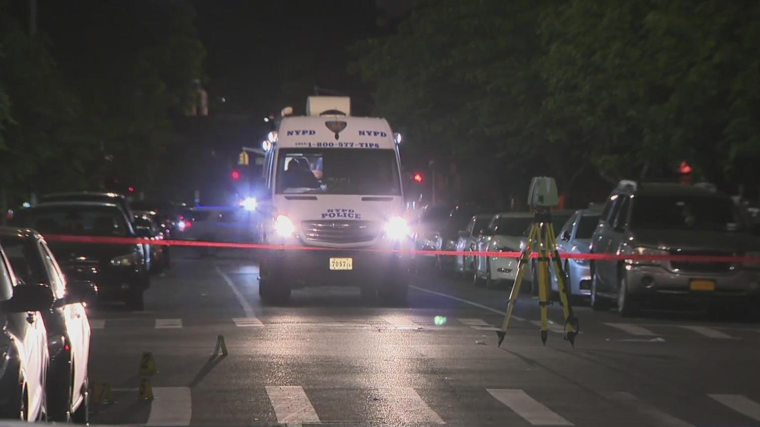 Woman killed at Brooklyn vigil in drive-by shooting