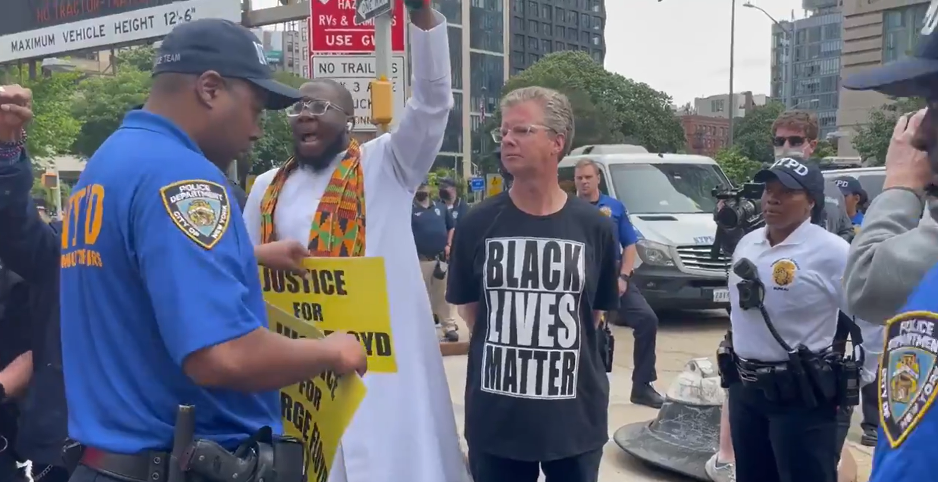 BLM activists and mayoral candidate Shaun Donovan arrested