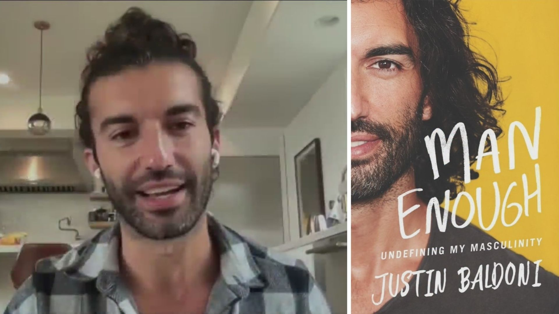 Actor, filmmaker and author Justin Baldoni talks about his new book on the PIX11 Morning News