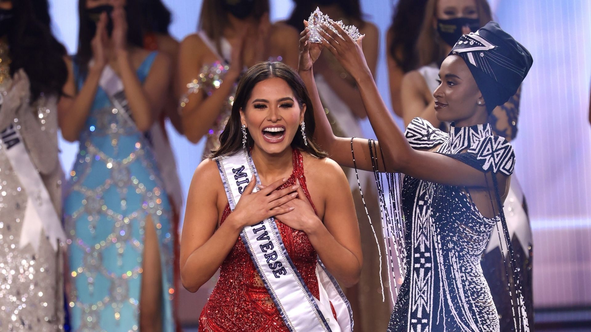 Miss Mexico Andrea Meza is crowned Miss Universe 2021