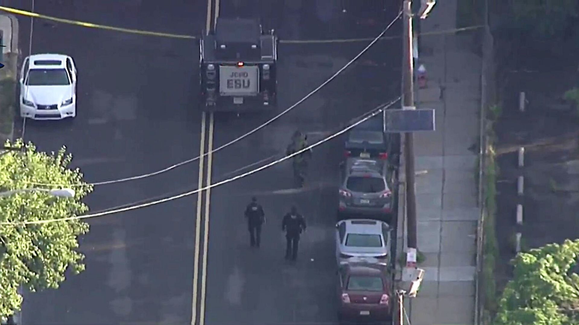 Police investigate suspicious package near NJ Transit tracks in Jersey City