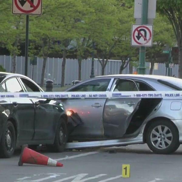 Police-involved shooting on West Side Highway in Midtown Manhattan