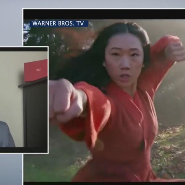 """""""Kung Fu"""" actor Eddie Liu"""