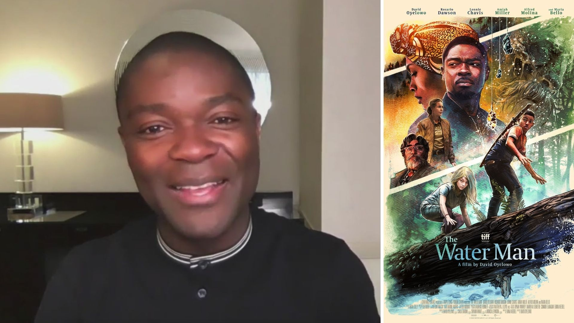 "David Oyelowo talks ""The Water Man"" on PIX11 News"
