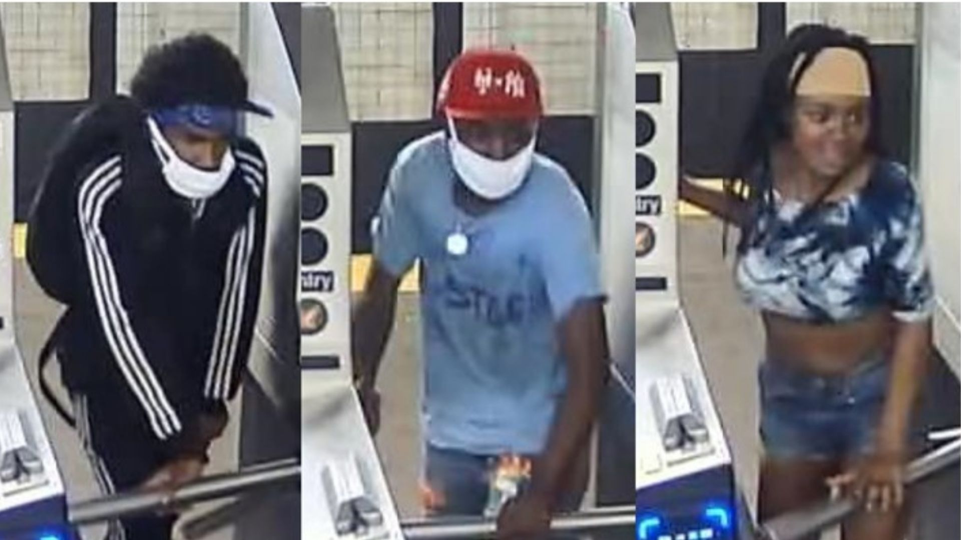 Suspects in violent Brooklyn subway station robbery