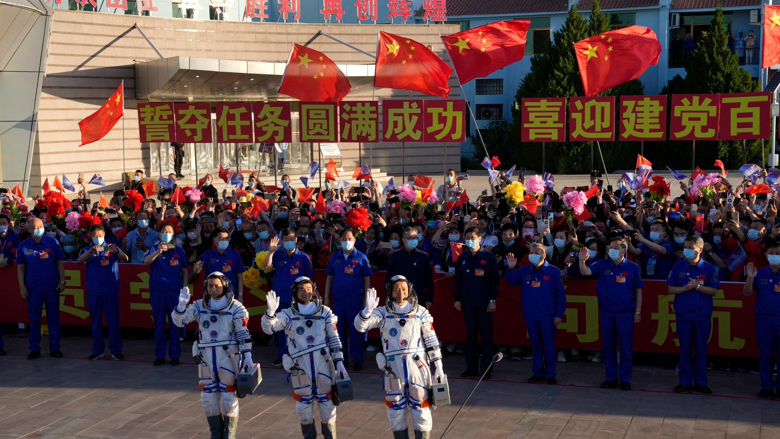 Tang Hongbo, Nie Haisheng, Liu Boming